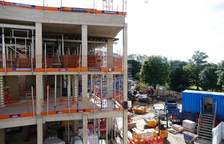 Transforming St Hilda's site with our new Boundary Building