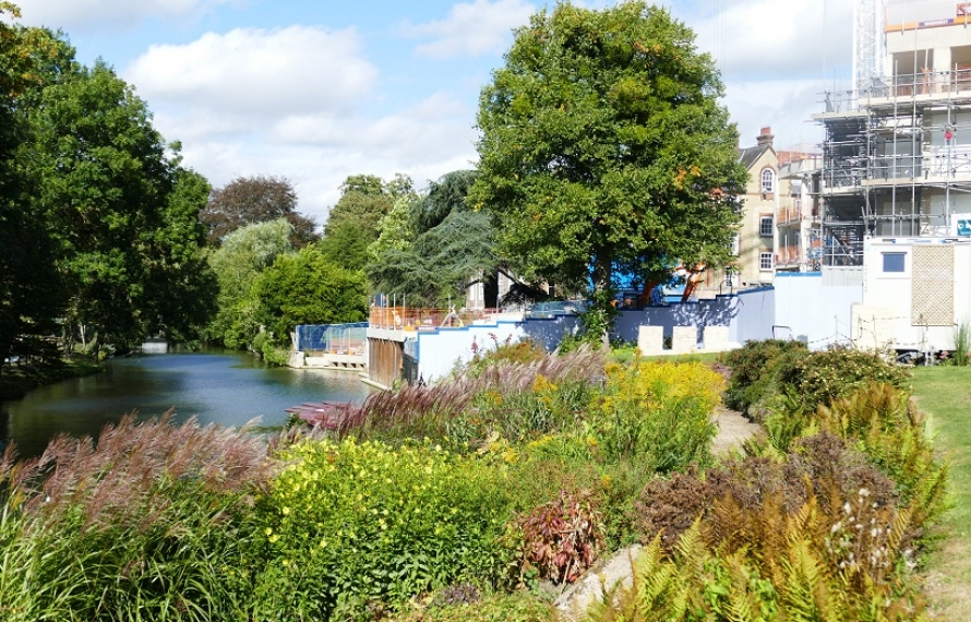 Transforming St Hilda's site with our new riverside pavillion