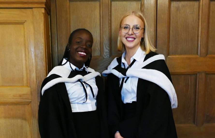 Graduation Day at St Hilda's College, September 2019