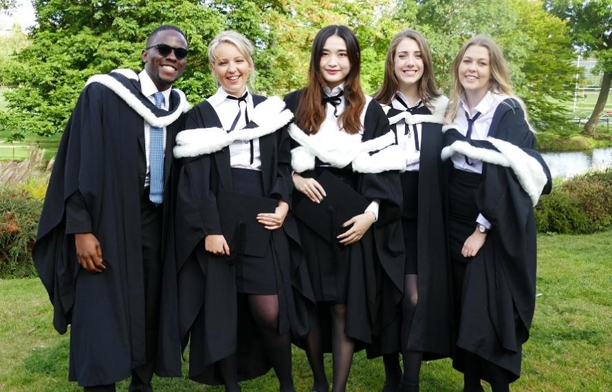 Graduation Day at St Hilda's College, September 2019