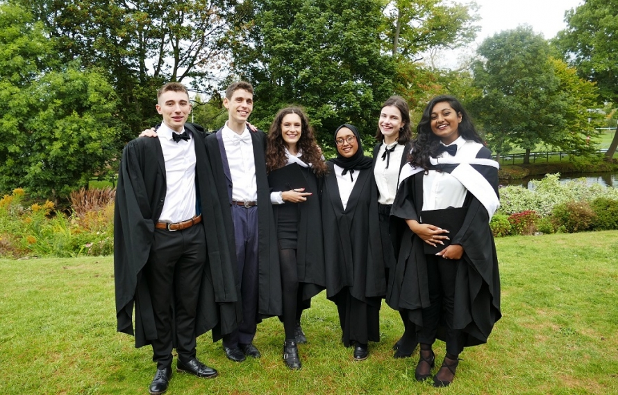 Congratulations to everyone graduating from St Hilda's College on 28 September 2019