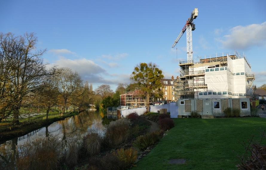Riverside Pavilion at St Hilda's College