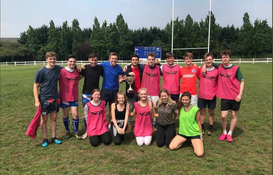St Hilda's wins Mixed Touch Rugby Cuppers in 2018