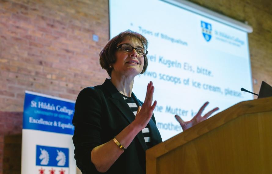 Dr Kersten Hoge, Fellow in Linguistics