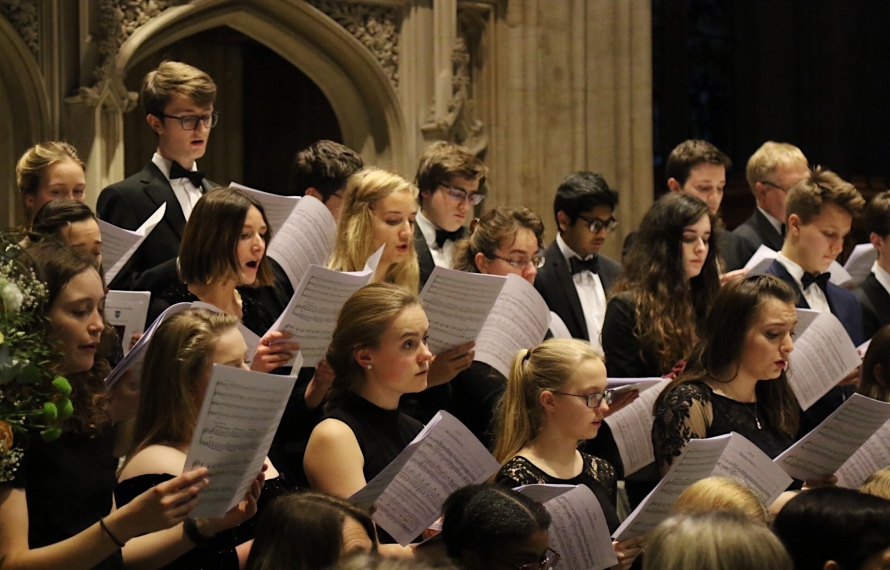 St Hilda's Come and Sing 2019 at the University Church of St Mary the Virgin