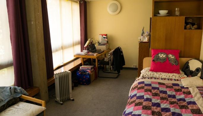 Student room, Garden Building