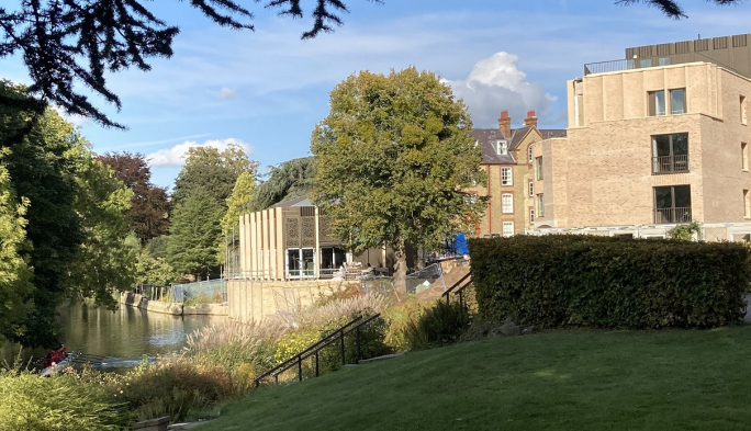 The Boundary Building and Riverside Pavilion