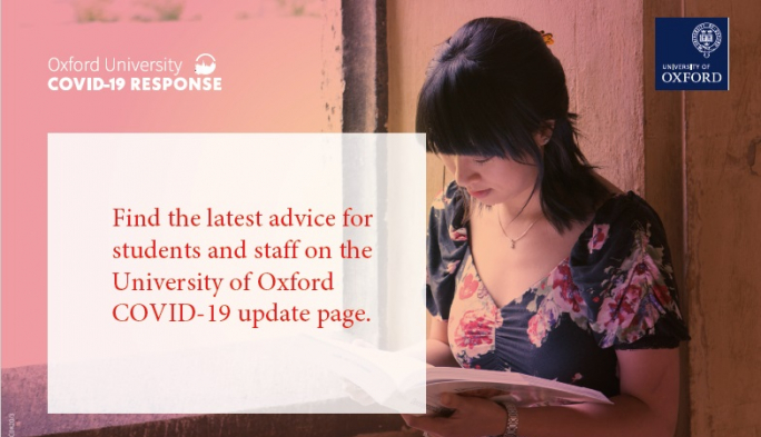 COVID-19 latest advice from Oxford University