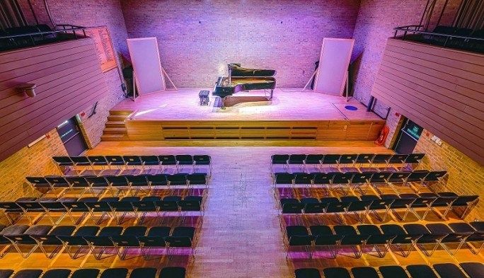 Auditorium, Jacqueline du Pré Music Building